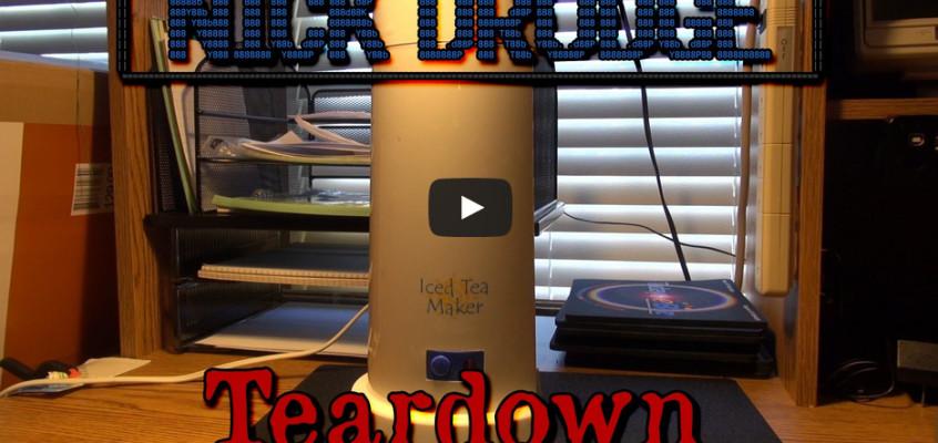 Iced Tea Maker Teardown