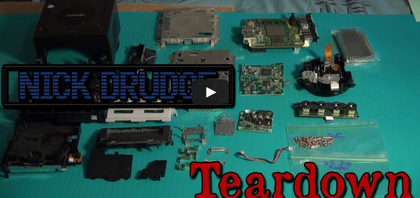 GameCube Teardown No Special Tools!