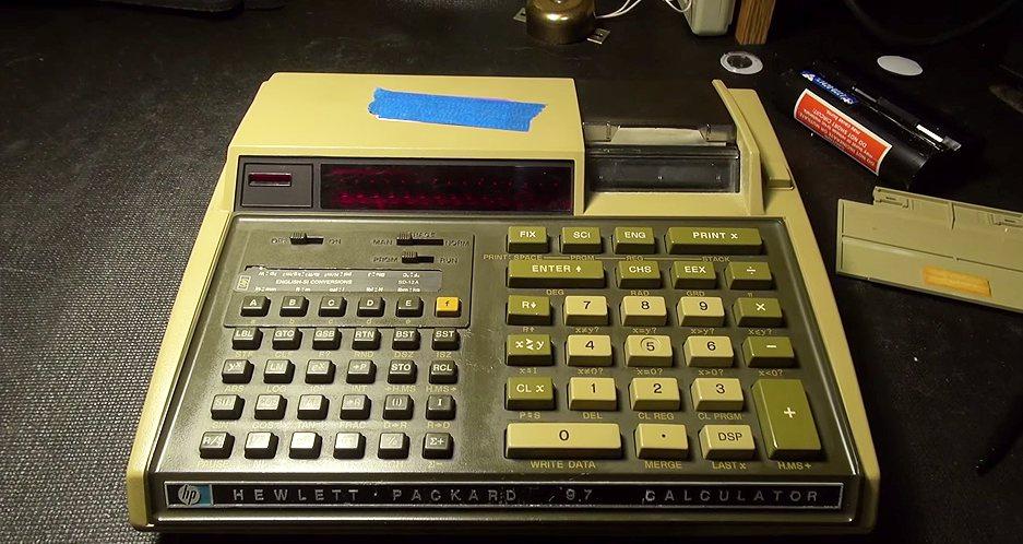 HP 97 Calculator Restore