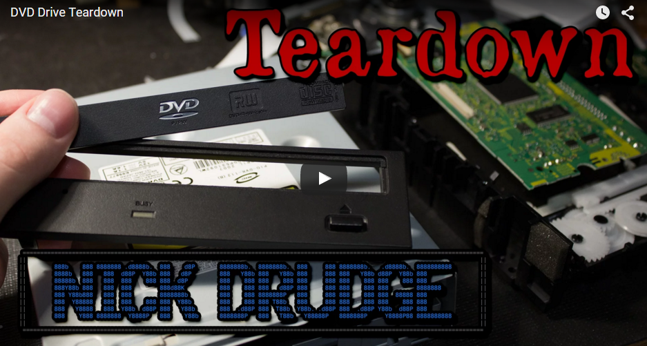 DVD Drive Teardown