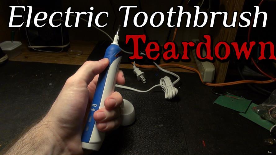 Electric Toothbrush Teardown