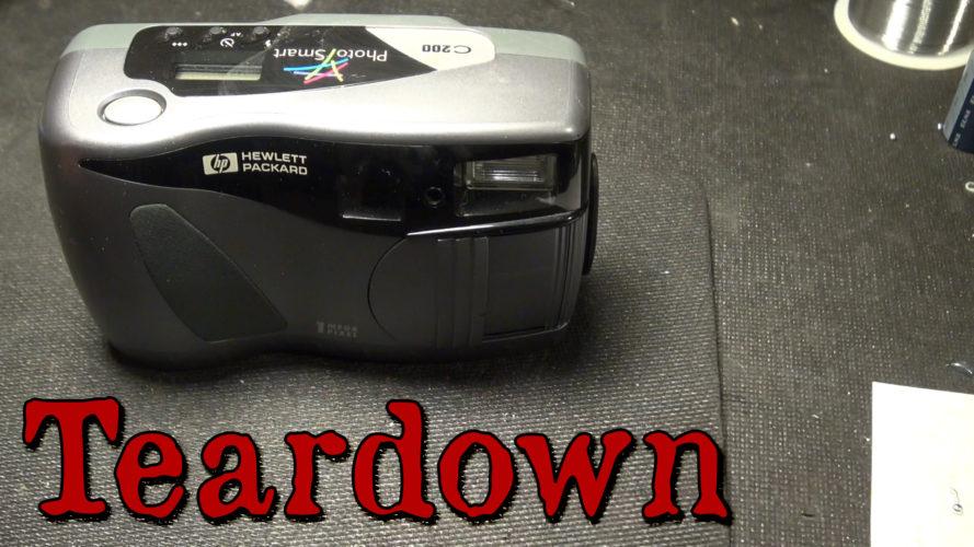 HP C200 Digital Camera Teardown