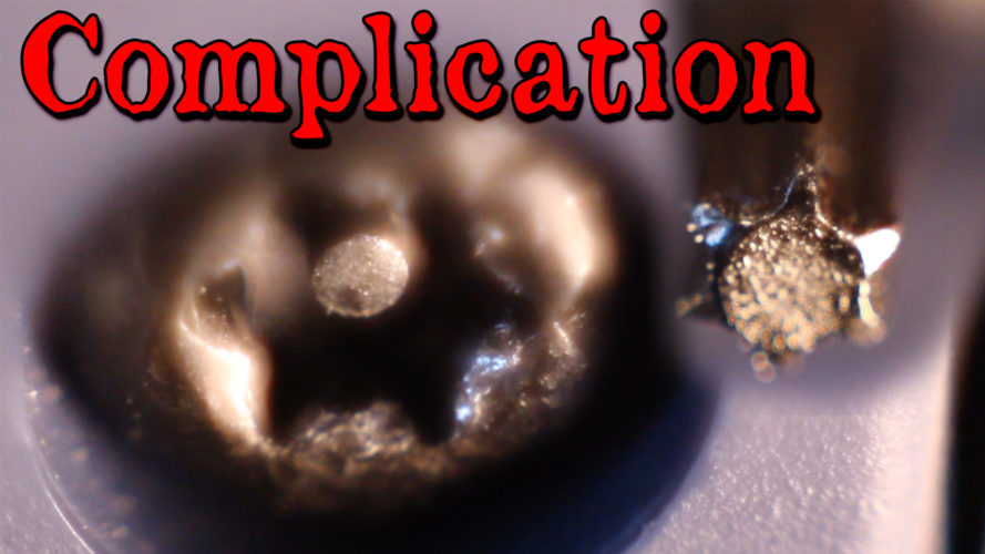 Screw Nubbin Complication