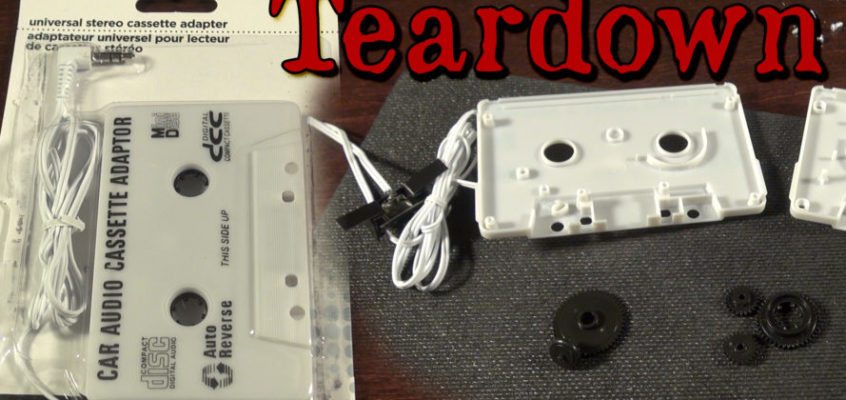Aux to Cassette Adapter Teardown and Explanation