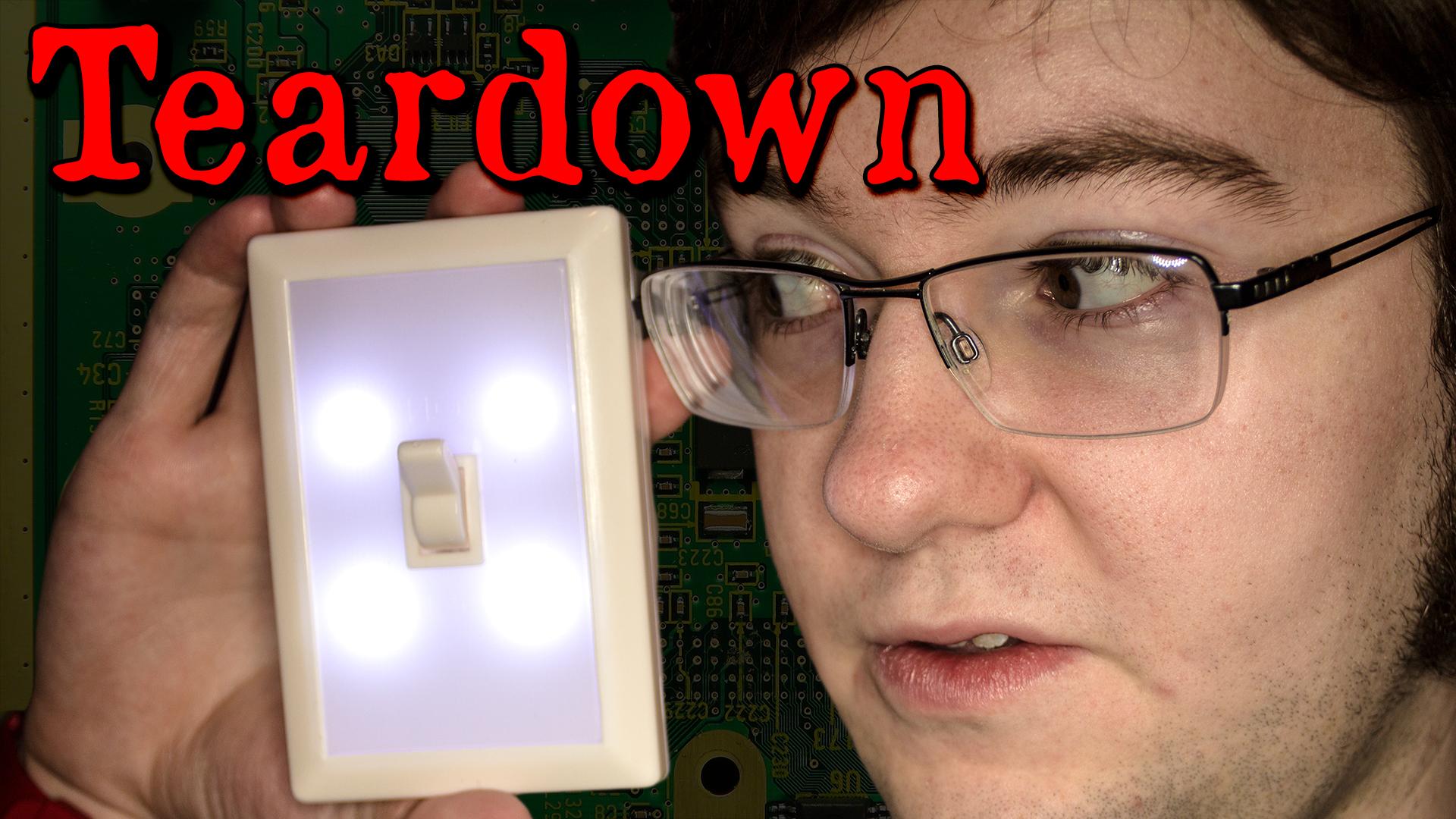Dollar Store LED Switch Light Teardown
