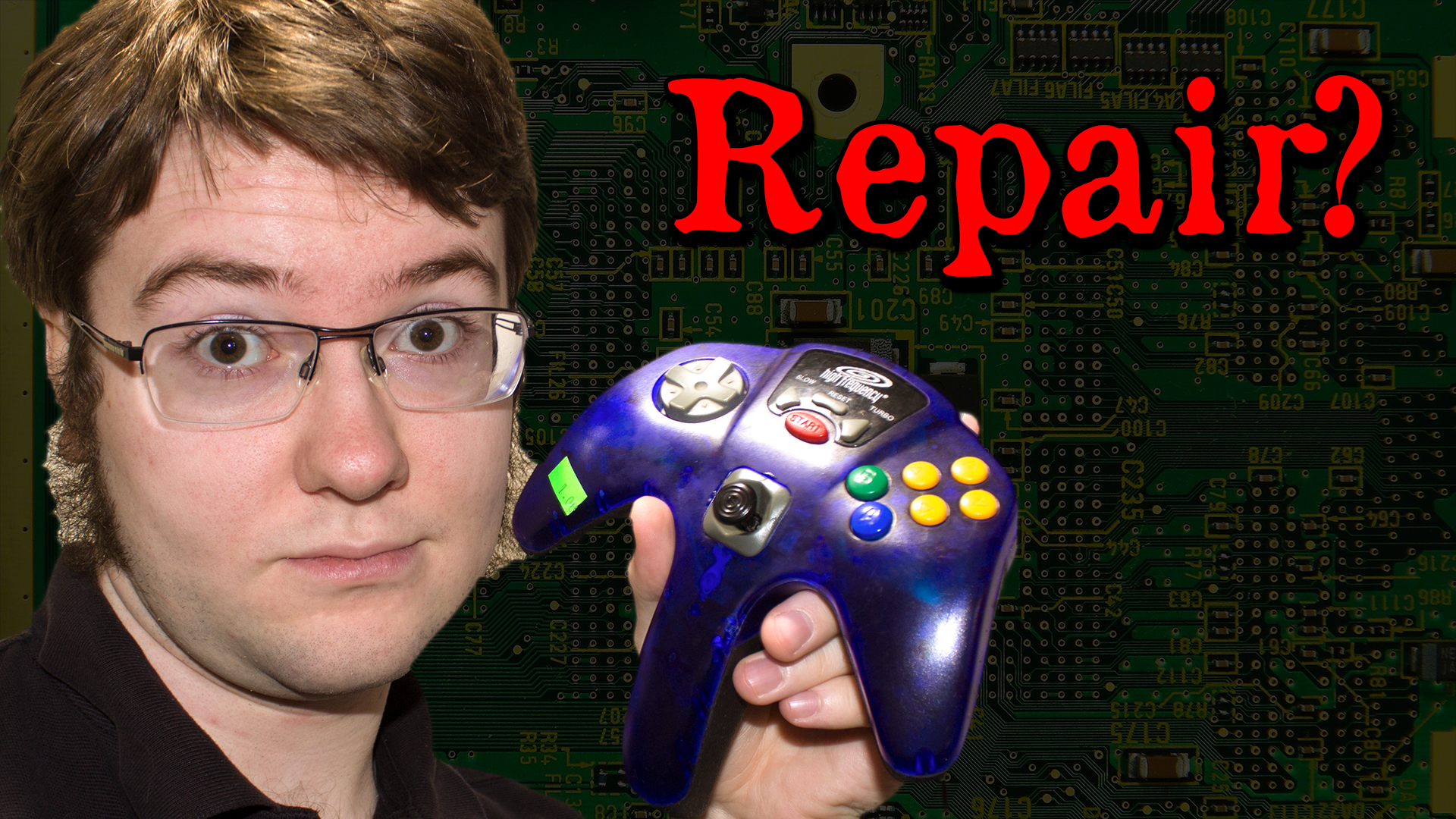 HIGH FREQUENCY N64 Controller Teardown