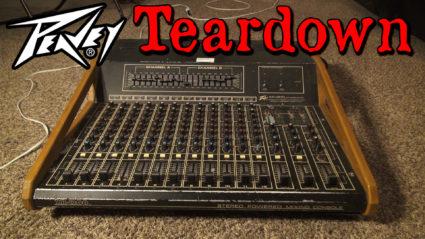0082 peavey mixing board