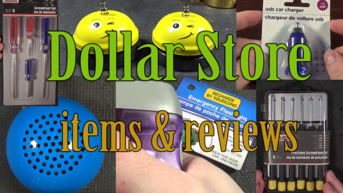 Dollar Store Items and Reviews